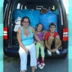 rodina Strapáčová + paní Zezulkova a manželé Zezulkovi