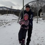 zimní lanovka