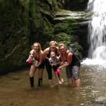 Rešovské vodopády Nízký Jeseník