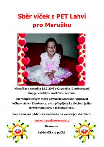 Sběr víček Maruška II
